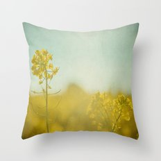 Spring Sun Throw Pillow