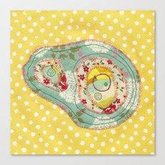 Amoeba 4 Canvas Print