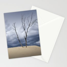 Wind Swept Clouds over the Dunes Stationery Cards