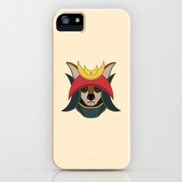 Daimyo Dog iPhone Case