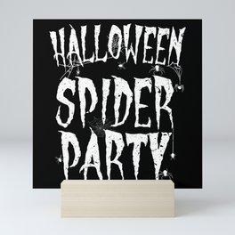 Halloween Party Spider Tarantula Monster Mini Art Print