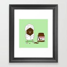 Pamper yourself Framed Art Print