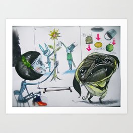 g-------g Art Print
