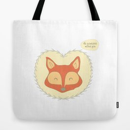 Mr. Foxy Tote Bag