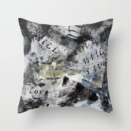 Love will save the day Throw Pillow