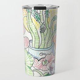 Vegetable Cornucopia Travel Mug