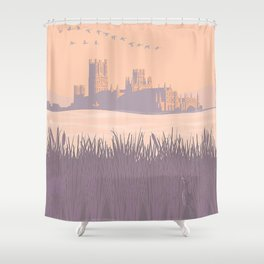 Ely Cathedral Shower Curtain