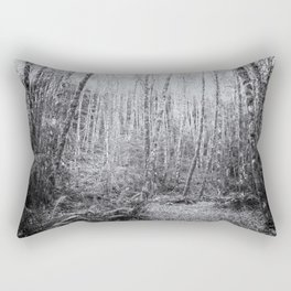 Cottonwoods in the Forest Rectangular Pillow