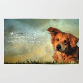A Dogs Love Rug