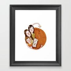 Charmed (alphabet series TV) Framed Art Print