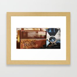 [[ BOOM.BOX ]] Framed Art Print