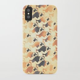 Woman Emerging Pattern C iPhone Case