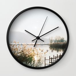 Annecy French Alps Wall Clock