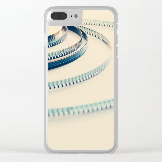 super 8 film III Clear iPhone Case