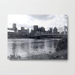 Pittsburgh Metal Print