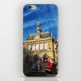 Asnires sur Seine city hall iPhone Skin