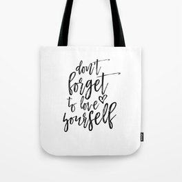 Digital Print, Typography Poster,Awesome Quote, Monochrome Art, Motivational Wall Decor Tote Bag