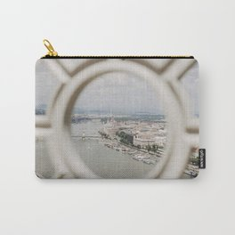 bird's eye view of Budapest Carry-All Pouch