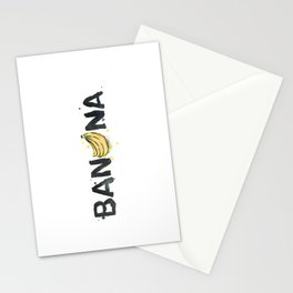 Favourite Things - Banana Stationery Cards