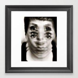 EYES II Framed Art Print