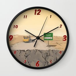 Now Leaving Sunnydale Wall Clock