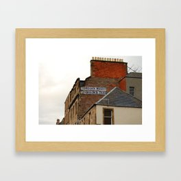Which one first? Framed Art Print