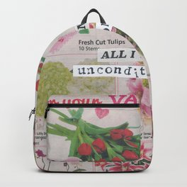 Unconditional Love / Valentine Backpack