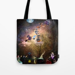 The Whimsical Witches of the West Tote Bag