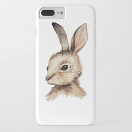 Pensive Easter Bunny  iPhone Case