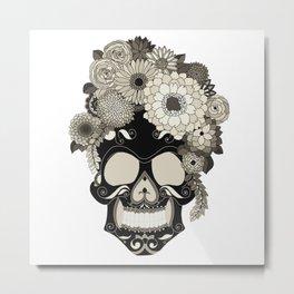 The Skull Queen Metal Print