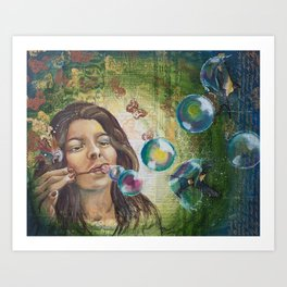 Musings I Art Print