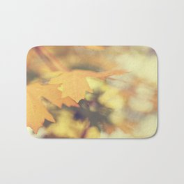 Autumns Yellow Bath Mat