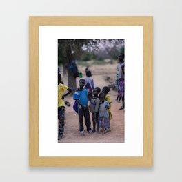 The Crowd Framed Art Print