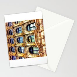 Old Montreal Building Close-Up Stationery Cards