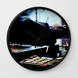The Chief at Work Wall Clock