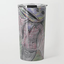 blackdeath birdman Travel Mug