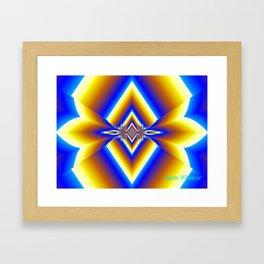 Diamonds Framed Art Print