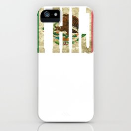Hijo Gift Mexican Design For Mexican Flag Design For Mexican Pride Vintage Outline iPhone Case
