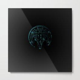 fullmetal alchemist blue Metal Print