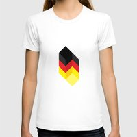 germany T-shirts featuring Germany by Dizzy Moments