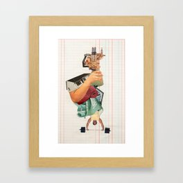 Figure Study No. 2 Framed Art Print