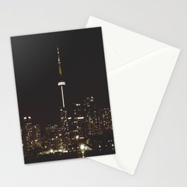 night lights Stationery Cards