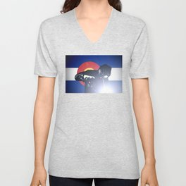 Welder: Colorado Flag Unisex V-Neck