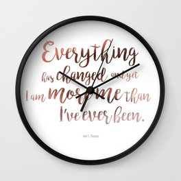 """""""Everything"""" Ornate Wall Clock"""