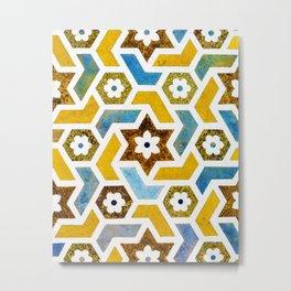 Moroccan Bliss #society6 #decor #buyart Metal Print