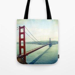 The Beautiful Golden Gate Bridge Tote Bag