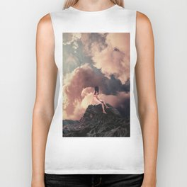 You came from the Clouds Biker Tank