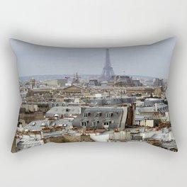 Paris Rooftops Rectangular Pillow