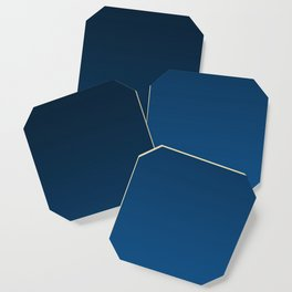Shades of PANTONE Classic Blue Color Of The Year 2020 Coaster