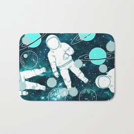 Space Astronaut Bath Mat